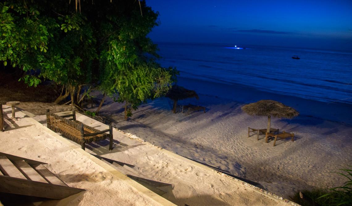 Mörkret har lagt sig, Manta Resort - Pemba, Tanzania
