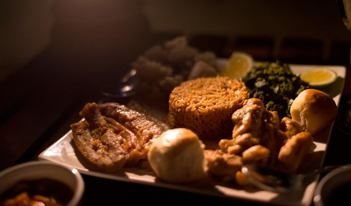 Tanzanisk middag med fantastiska smaker