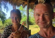 Anki & Lars vid lunchen
