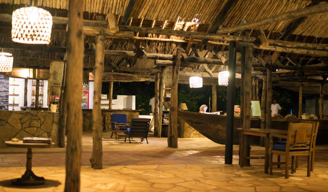Lobbyn på Manta Resort