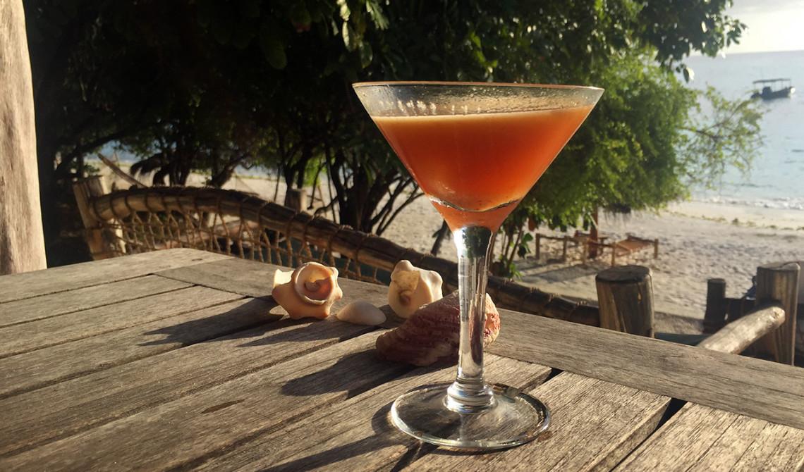 Voodoo juice på Manta Resorts strandbar