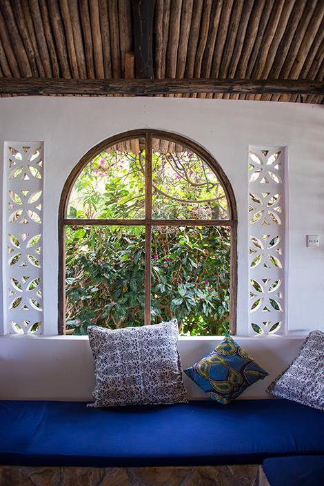Manta Resort på Pemba i Tanzania