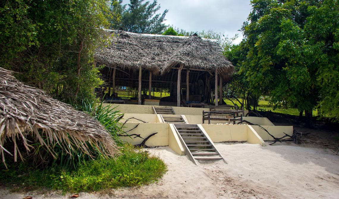 Manta Resort Strandbar