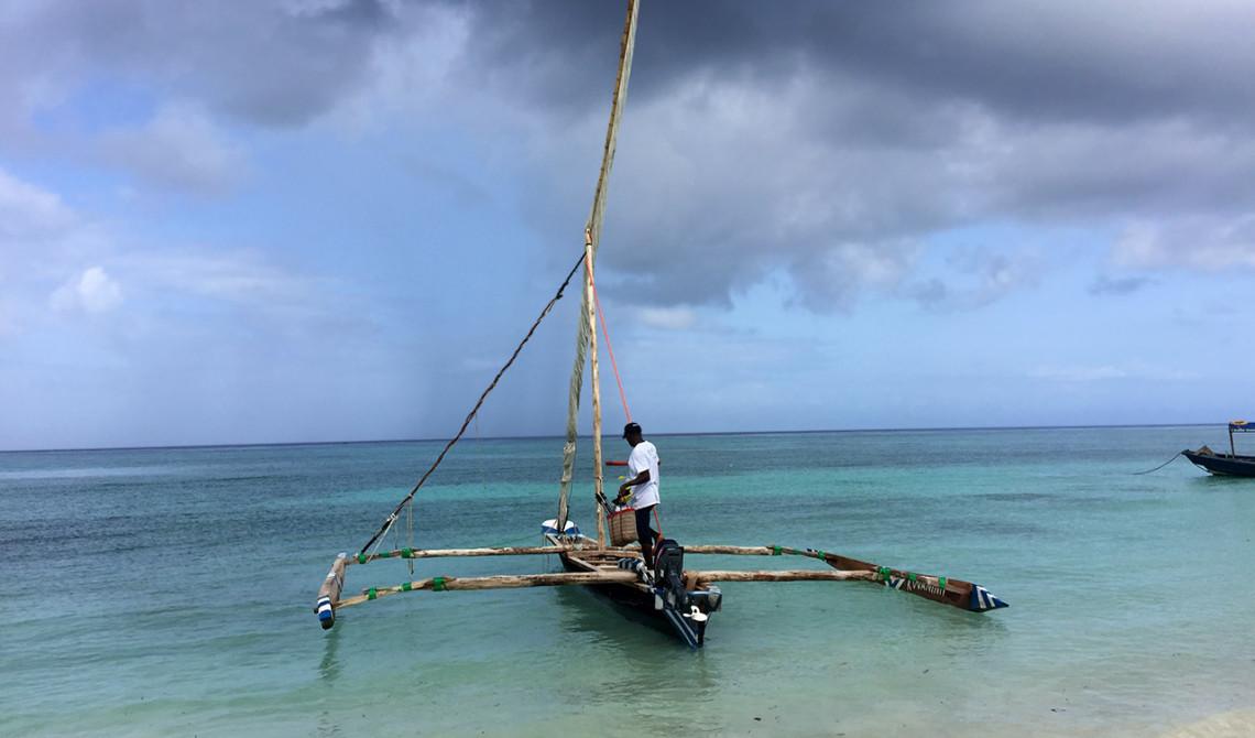 Ngalawa kallas den typ av båt vi ska åka med