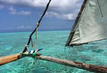 Båten som tar oss till sandbanken