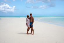 Anki & Lars på sandbanken
