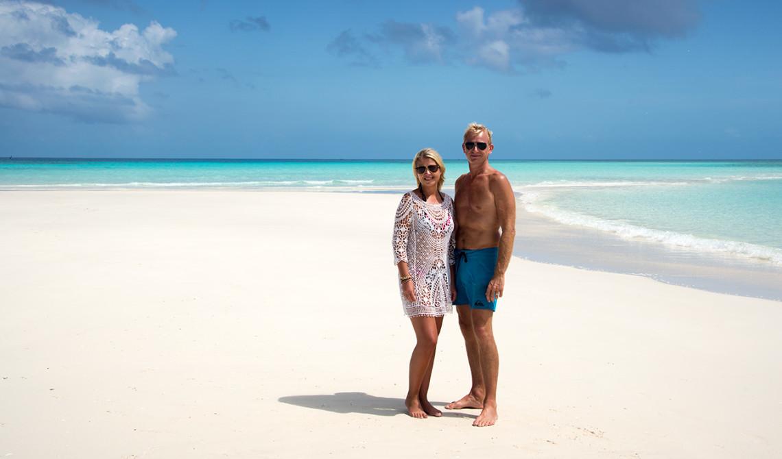 Fantastisk upplevelse och otroliga vyer runt om oss på denna sandbnak