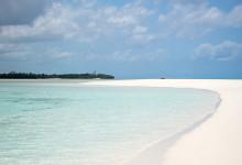 En otrolig upplevelse att besöka denna sandbank