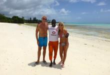Vi tillsammans med Ali som visat oss några riktigt fina platser utmed Pembas kust