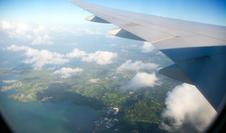 Med Air France närmar vi oss Martinique