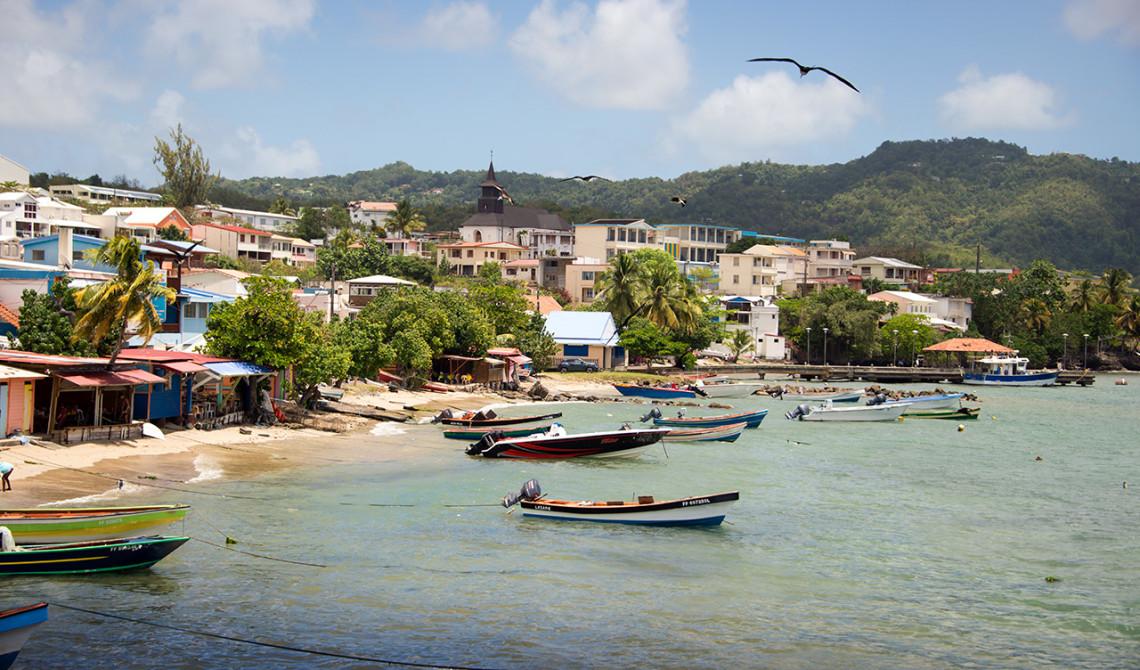 Bra utsiktsplats i Sainte-Luce, Martinique