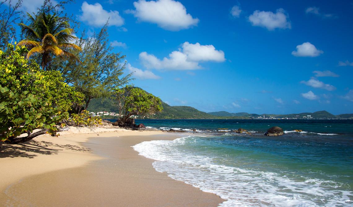 Stranden Plage de Gros Raisin, Sainte-Luce, Martinique