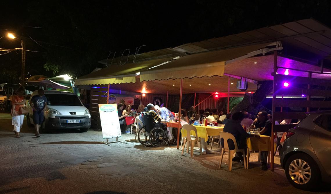 Chiche Restaurant i Sainte-Luce, Martinique