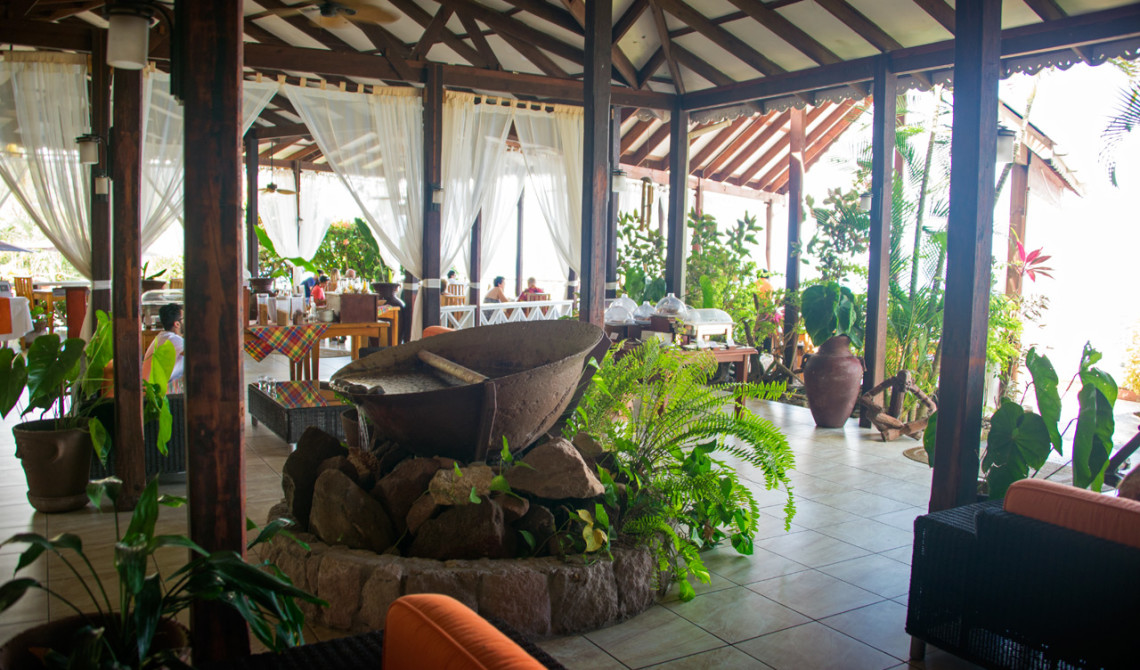 Allmänna utrymmen på Ti Kaye Resort & Spa-på Saint Lucia