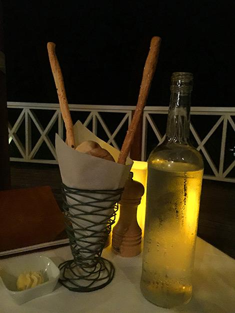 Dags för middag på Kai Manje Restaurang på Ti Kaye Resort & Spa, Saint Lucia