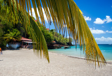 Strandvy, Ti Kaye Resort & Spa, Saint Lucia