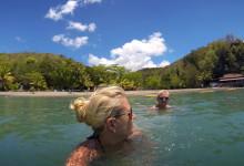 I det sköna vattnet, Ti Kaye Resort & Spa, Saint Lucia