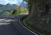 Utmed vägarna på Saint Lucia