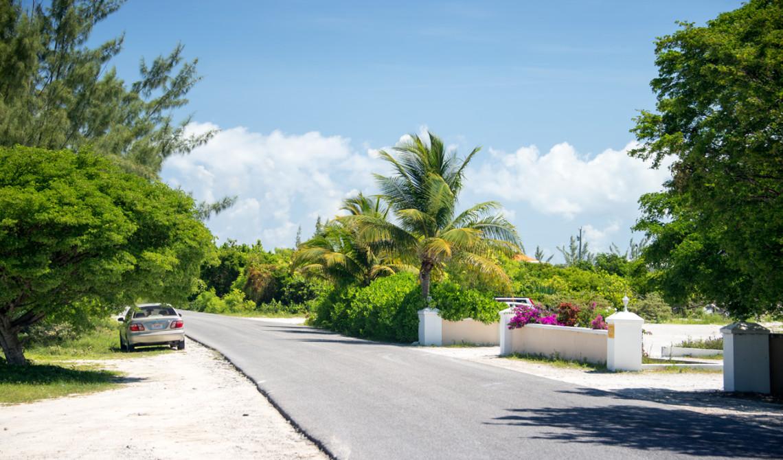 På cyklar på väg att utforska Turks & Caicos