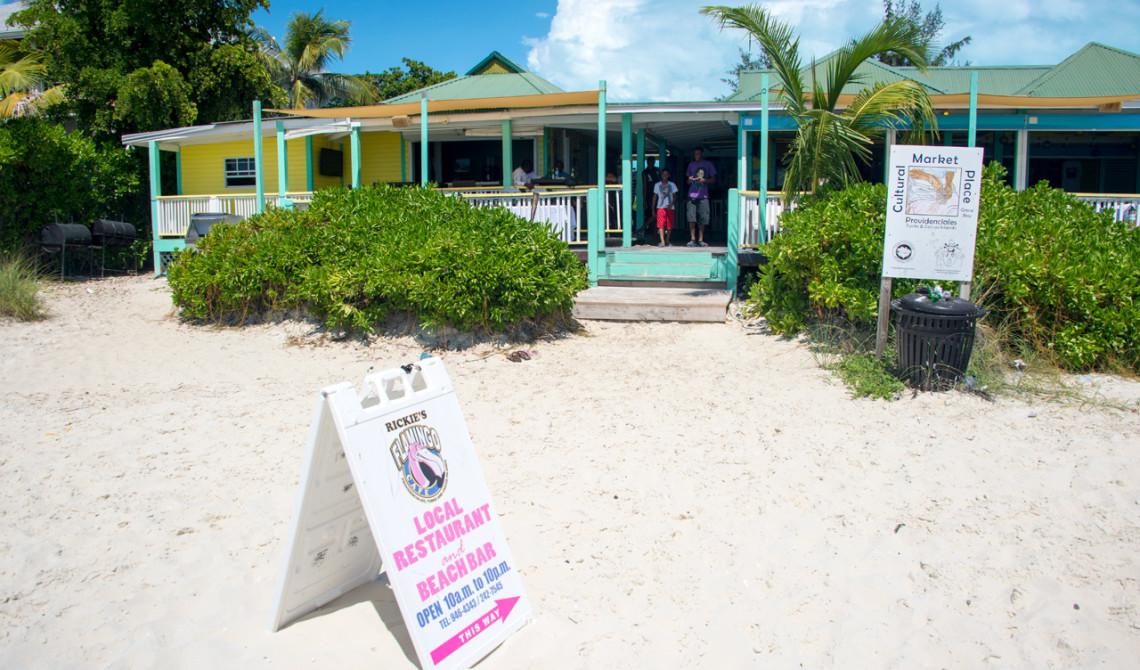 Rickie's Flamingo Café, Turks & Caicos
