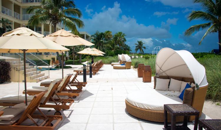 Poolområdet på Windsong Resort, Turks & Caicos