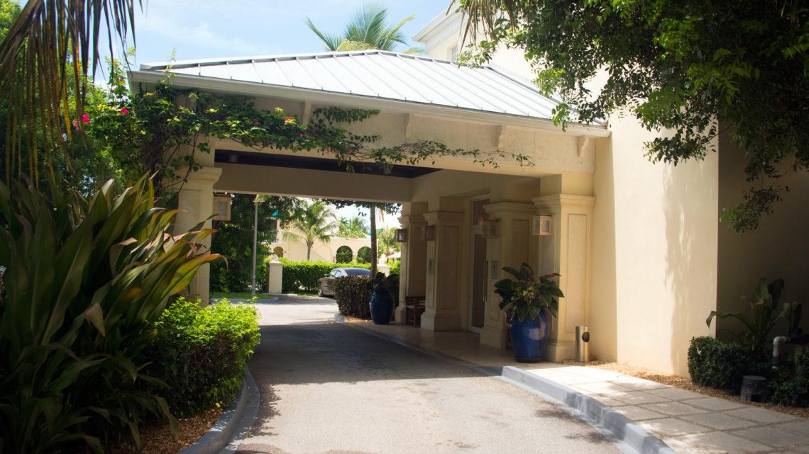 Entré till Windsong Resort Turks & Caicos