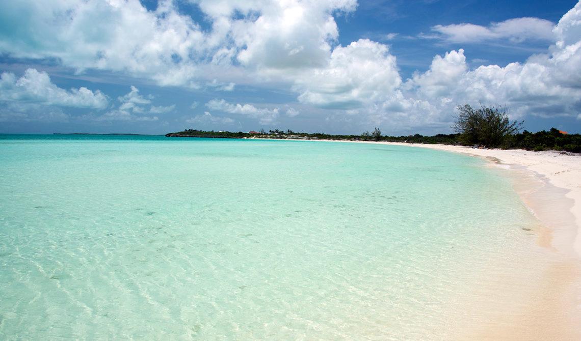 Vackert och folktomt. Taylor Bay Beach på Turks & Caicos