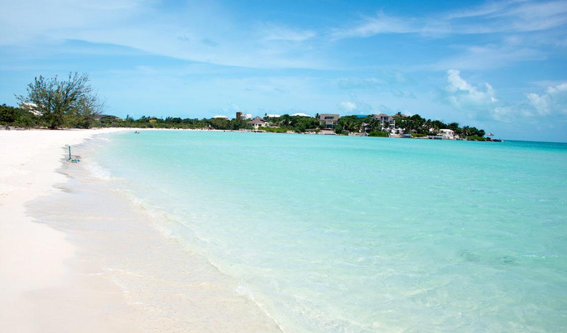Taylor Bay Beach, en av de vackraste stränderna på Turks & Caicos