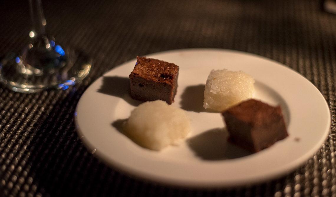 Lite sött efter en fantastisk middag på Grace Bay Club på Turks & Caicos