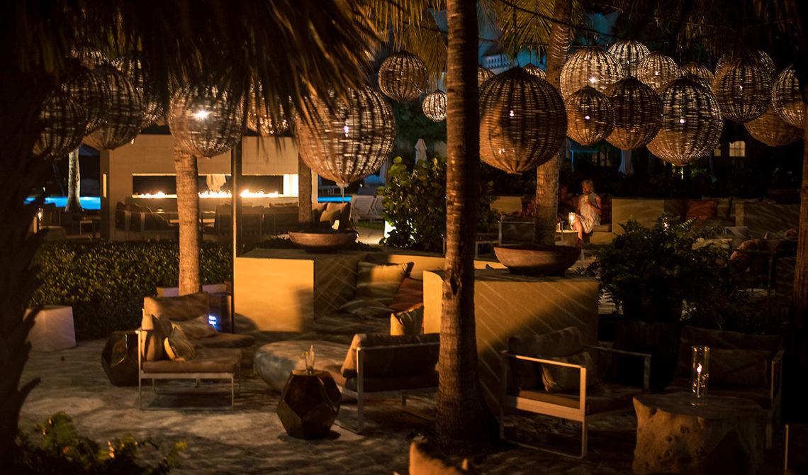 The Lounge på Grace Bay Club på Turks & Caicos