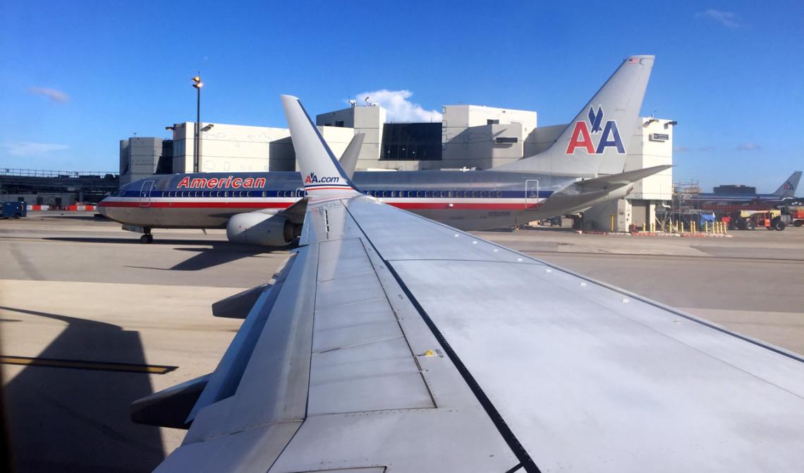 American Airlines på Miamis flygplats