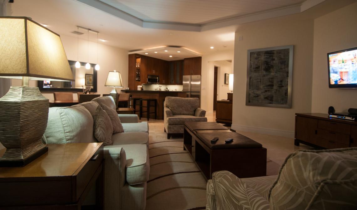 Oceanfront Luxury One-beedrom suite, West Bay Club Resort, Turks & Caicos
