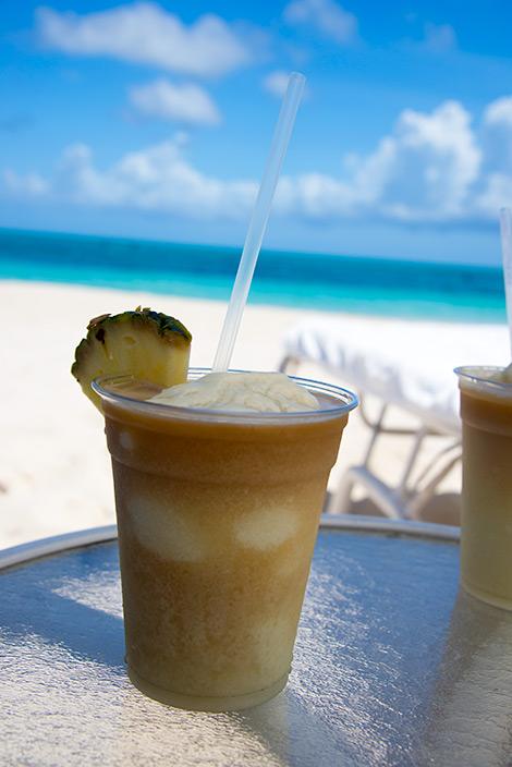 Piña Coladas, West Bay Club Resort, Turks & Caicos