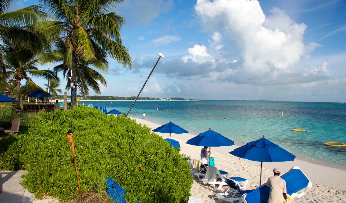 Morgon på Windsong Resort på Turks & Caicos