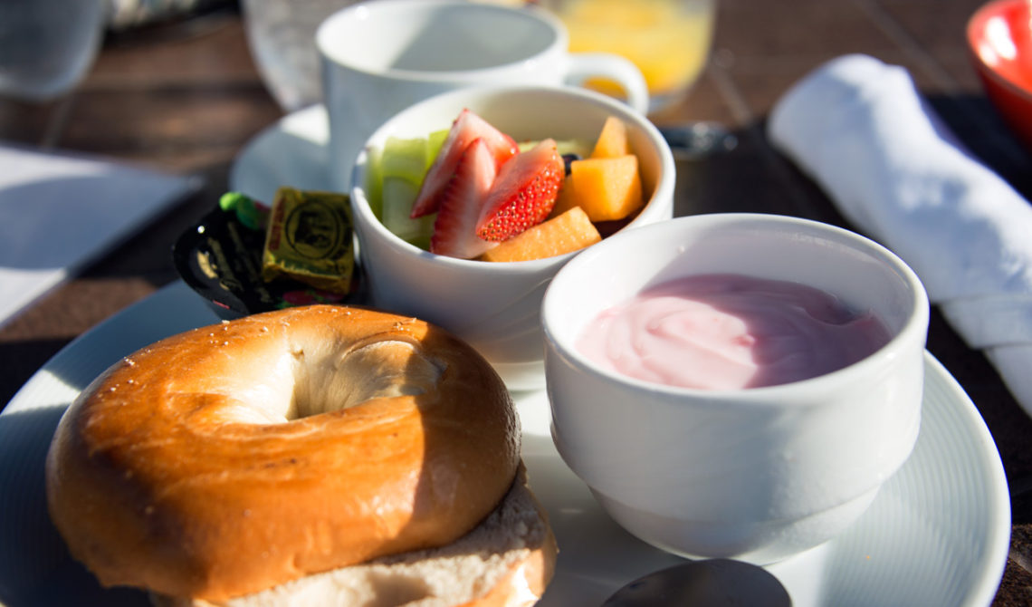 Frukost på Windsong Resort på Turks & Caicos