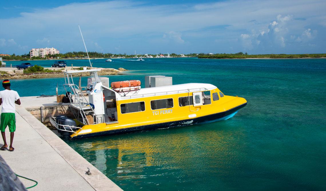 TCI Färjor vid Walkin Marina, Leeward Highway, Turks & Caicos