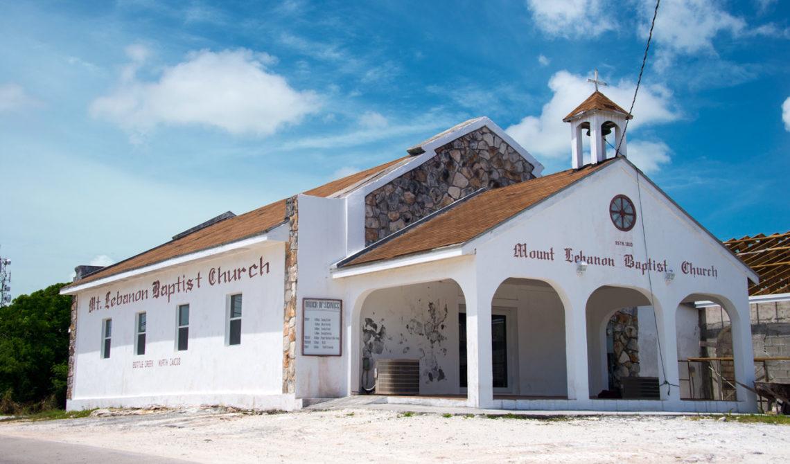 Mount Lebanon Baptist Church på North Caicos