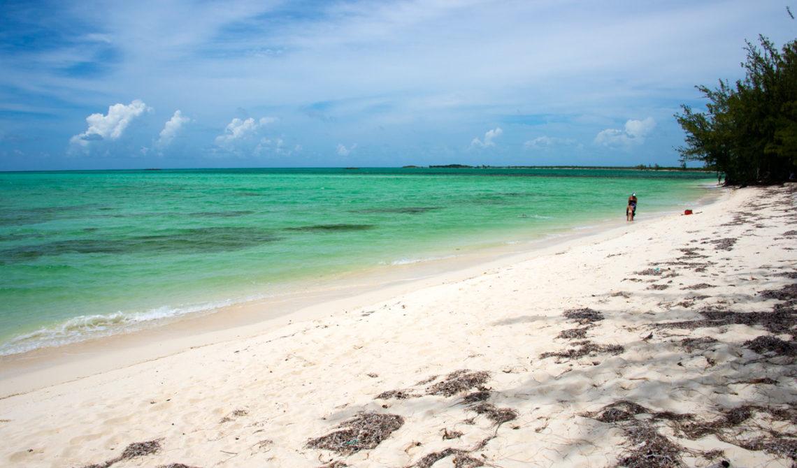 Bambarra Strand på Middle Caicos