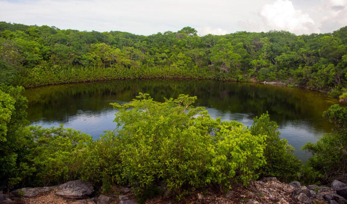 Vacker miljö vid Cottage Pont på North Caicos, Turks & Caicos