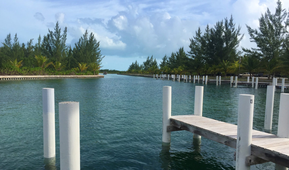 Sandy Point Marina på North Caicos, Turks & Caicos