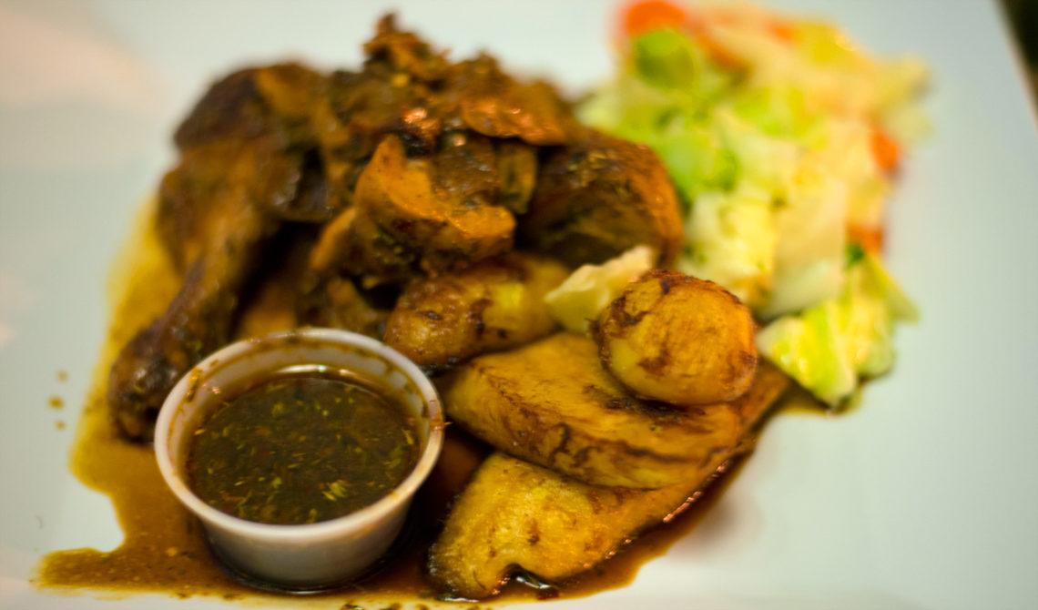 Middag på Mr Groupers Restaurant, Providenciales, Turks & Caicos
