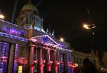 Sky Dance vid The Custom House i Dublin