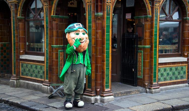 Utanför Quays Bari Dublin