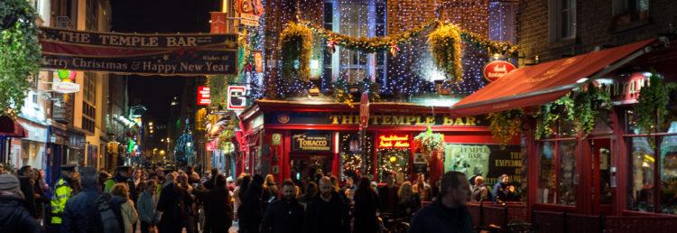 Top - Nyårsfirande i Dublin