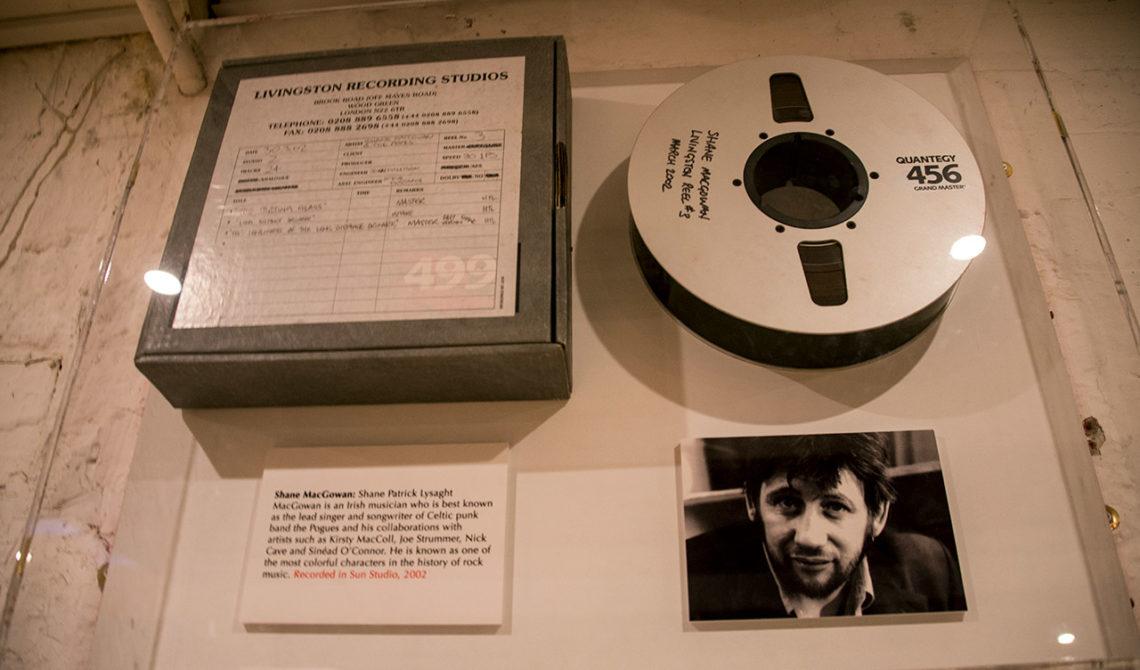 Sevärdheter inne på Sun Studios - The Irish Rock n Roll Museum Experience Dublin