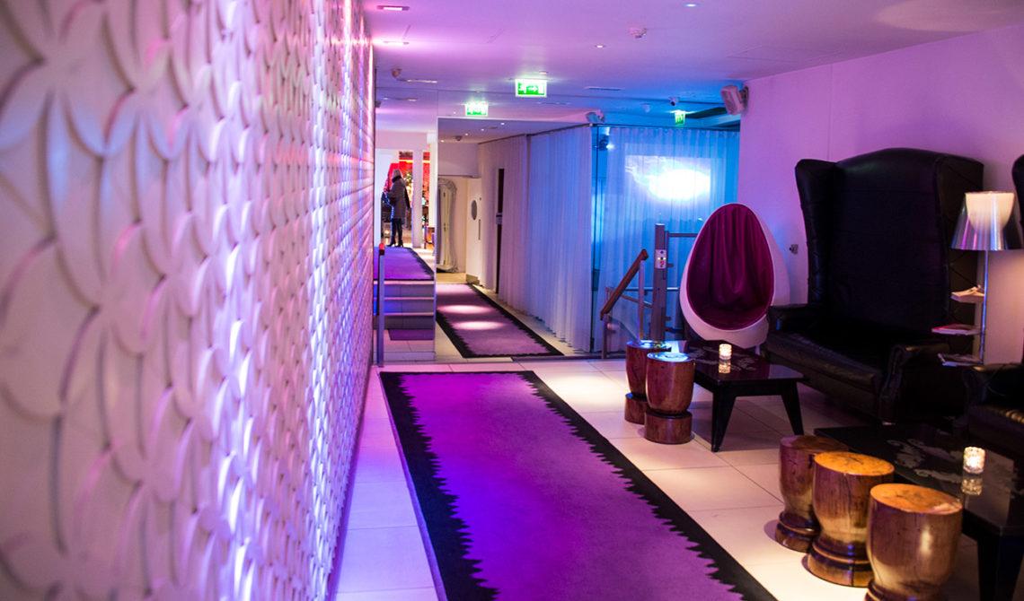 Lobbyn till the Morgan hotel i Dublin