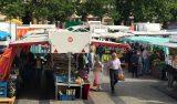 Marknad i Luxemburg stad