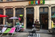 Butlers, en av många små och trevliga butiker i Luxemburg