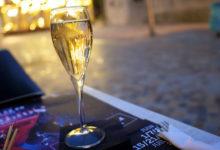 Bollinger Champagne på Café Le Gaulois
