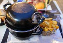 Middag på Café Le Gaulois i Reims